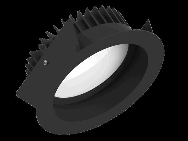 Fluxe 185 LV zwart 3750Lm
