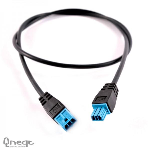 Qneqt DIM KS blauw 2-polig 2x0.5 HV Cca L=1m