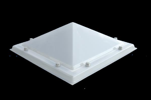 Lichtkoepel AC piramide 2-wandig D1106120