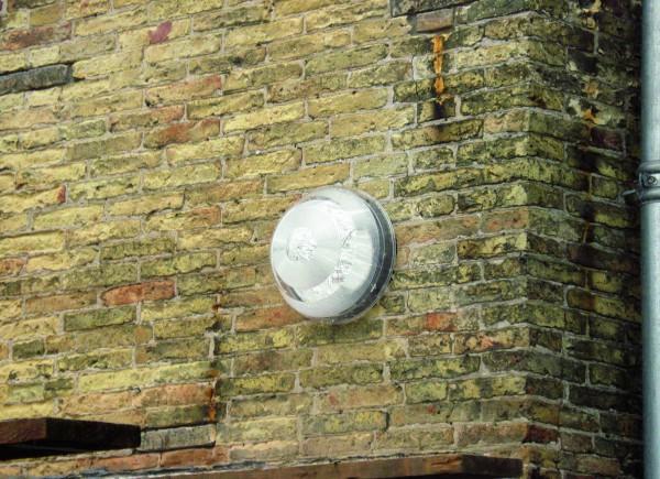 Solatube Ø25cm Set vierkant voor zijgevel koepel acrylaat excl. plafondplaat