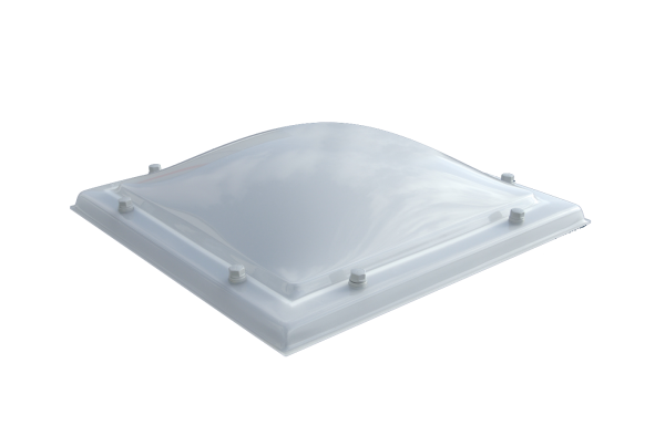 Lichtkoepel PC bolvormig 3-wandig D1102120-02