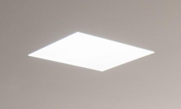 Solatube Ø35cm vierkant verzonken plafondplaat - in te stucen