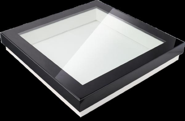 Vlakke lichtkoepel glas HR++ D1101110
