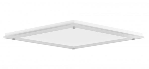 Solatube Ø25cm JustFrost vierkante plafondplaat inclusief natural effect lens