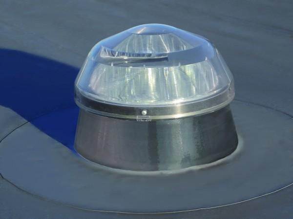 Solatube Ø25cm Set vierkant voor platdak ECO koepel acrylaat excl. plafondplaat