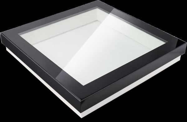 Vlakke lichtkoepel glas Triple HR++ extra geïsoleerd D1101115