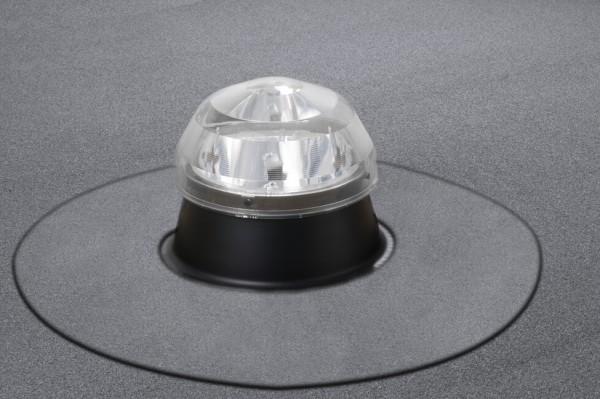 Solatube Ø35cm Set vierkant voor platdak koepel acrylaat excl. plafondplaat