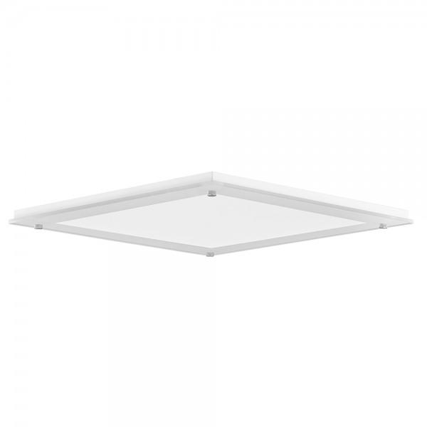 Solatube diam. 35cm Plafondplaat vierkant wit justfrost